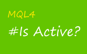 is active?